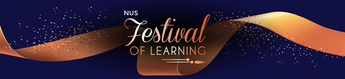 festive of learning banner