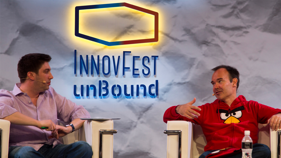 Fireside Chat at InnovFest unBound 2016: Bringing Angry Birds Alive